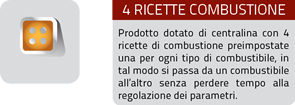 4 ricette combustione