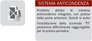 sistema anticondenza